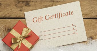 Massage Gift Certificate Wildomar